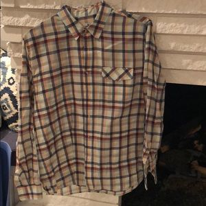 Other - Great spring colored plaid shirt